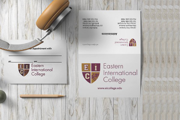 FOLDED VISITING CARD