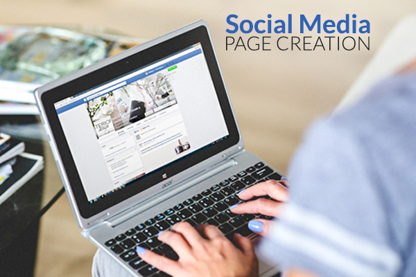 SOCIAL MEDIA PAGE CREATION