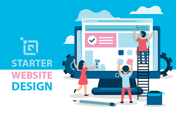 Starter Design Package with website design in siliguri