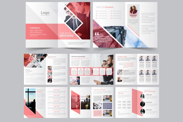 COMPANY BROCHURE ( 10 PAGES )