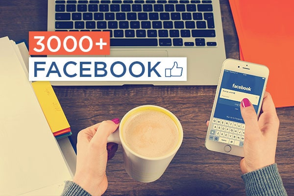 Get 3000+ Facebook Likes