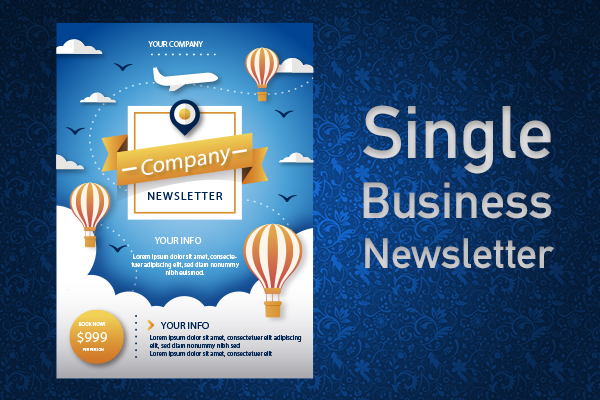 SINGLE BUSINESS NEWSLETTER