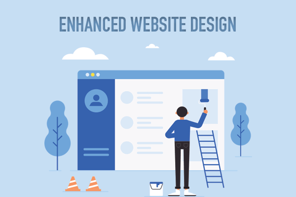 Enhanced Website Design with website design in siliguri