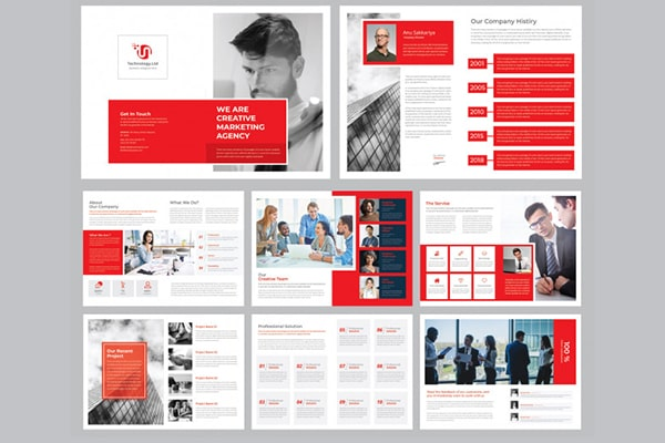 CORPORATE BROCHURE ( 16 PAGES )